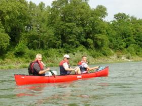 Bild: Kurs Nr. 040 Kanutour auf dem Altrhein ab Bad Bellingen