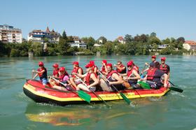 Kurs Nr. 044 Kentersichere Raftingtour auf dem Altrhein von Istein bis Bad Bellingen