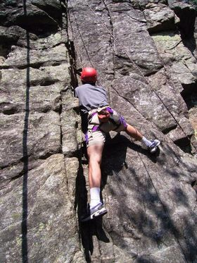Bild: Kurs Nr. 048 Felsklettern für Einsteiger in Oberried bei Freiburg