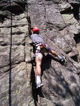 Bild: Kurs Nr. 049 Felsklettern für Einsteiger in Oberried bei Freiburg