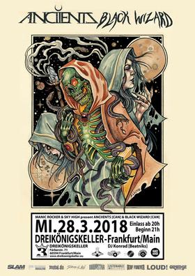 Bild: Anciients (CAN) & Black Wizard (CAN) - Heavy Metal Progressive Stoner Rock aus Vancouver