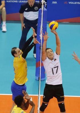 Volleyball-Länderspiel: Deutschland – Brasilien