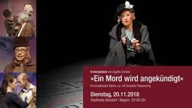 Bild: Ein Mord wird angekündigt - Berliner Kriminal Theater