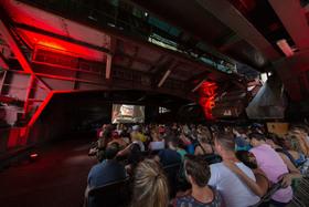 Bild: Open-Air-Kino am Werksschwimmbad