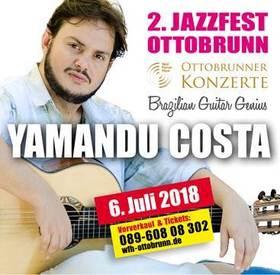 Bild: 2. Jazzfest Ottobrunn - YAMANDU COSTA - Brazilian Guitar Genius