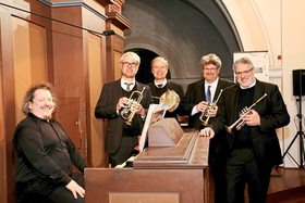 Bild: Trompetenensemble Stuttgart