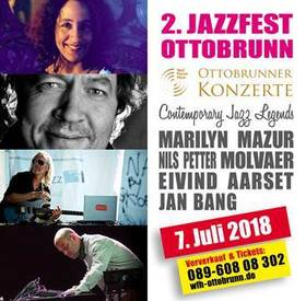 Bild: 2. JAZZFEST Ottobrunn - MARILYN MAZUR, NILS PETTER MOLVAER, EIVIND AARSET & JAN BANG – Contemporary Jazz Legends