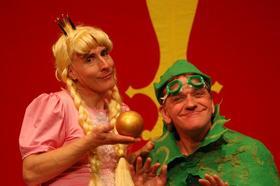 """Bild: Theater Fritz und Freunde - """"Froschkönig"""""""