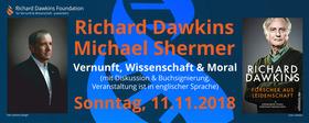Bild: Richard Dawkins & Michael Shermer