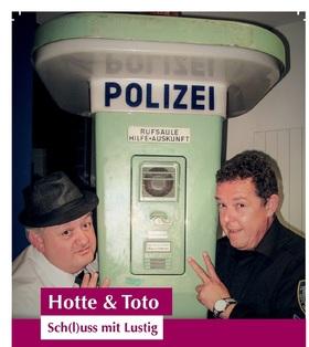 Bild: Hotte & Toto - Sch(l)uss mit lustig!! - Die Comedy Show - on tour