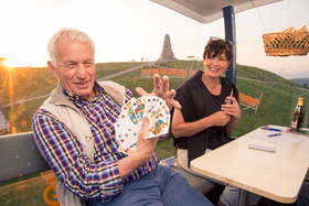 Bild: Gondel-Cego-Turnier - in der Feldbergbahn