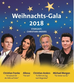 Die Weihnachts-Gala 2018 - mit bekannten Stars aus Funk und Fernsehen