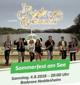 Bild: Sommerfest am See