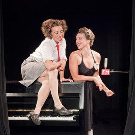 Bild: Duo Lunatic - On Air - Funksturm mit Olli & Claire