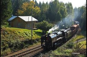 Bild: Im Goldenen Herbst mit Volldampf durch Böhmen nach Doksy (CZ)