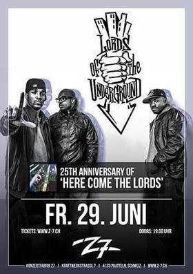 Bild: LORDS OF THE UNDERGROUND - 25th Anniversary of 'Here Come The Lords'