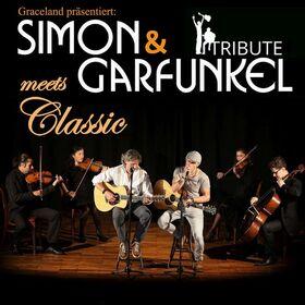 Simon & Garfunkel Tribute meets Classic - Duo Graceland mit Streicherquartett und Band