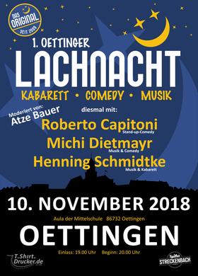 Bild: 1. Oettinger Lachnacht