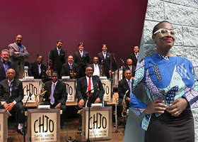 Clayton Hamilton Jazz Orchestra feat. Cécile McLorin Salvant - Music We Love