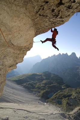 Bild: Alexander Huber - Vortrag - Analogie von Beruf und Berg