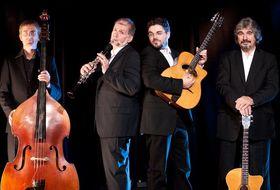 Bild: Joscho Stephan und Helmut Eisel Quartett