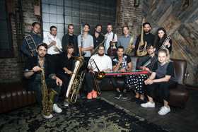 Jazzrausch Bigband - Dancing Wittgenstein (Live House & Techno)