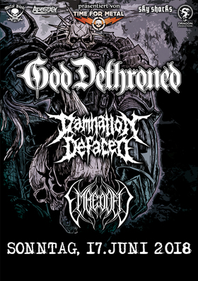 Bild: GOD DETHRONED, DAMNATION DEFACED, EMBEDDED