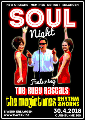 Bild: Soulnight - mit The Ruby Rascals und The Magictones