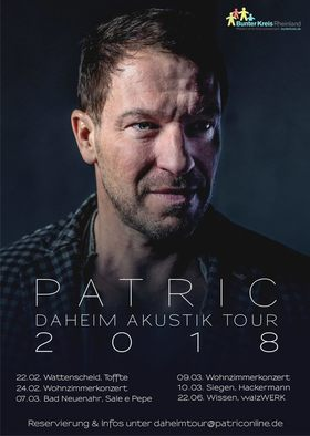 Bild: Patric - Daheim Akustik Tour 2018