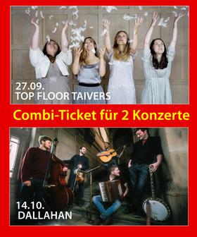 Bild: KOMBI TICKET für beide Konzerte 27.09. und 14.10.