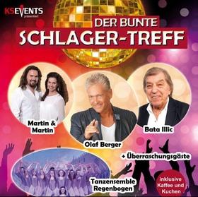 Bild: Der Bunte SCHLAGER-TREFF - Olaf Berger, Bata Illic, Martin & Martin, Tanzensemble Regenbogen + Überraschungsgäste!