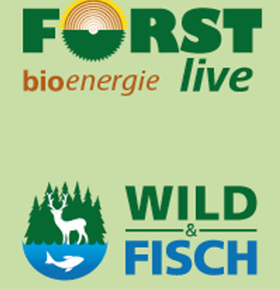 Bild: FORST live + WILD und FISCH + bioenergie