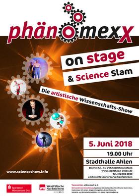 Phänomexx on stage - Die artistische Wissenschafts-Show