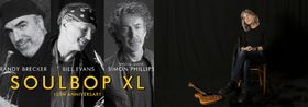 JAZZ HEROES - R. Brecker/B.Evans Soulbop XL feat.Simon Phillips, Mike Stern Band, NuH[u]ssel Orchestra
