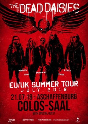 """Bild: THE DEAD DAISIES - """"Burn It Down Tour 2018"""""""
