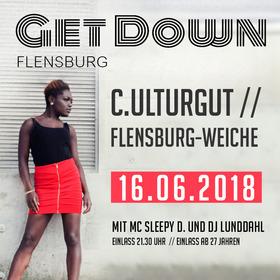 Bild: Get Down - Line Up: DJ Crazy Cutz, DJ Lunddahl, MC sleepy D.