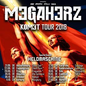 Bild: Megaherz - Komet Tour 2018