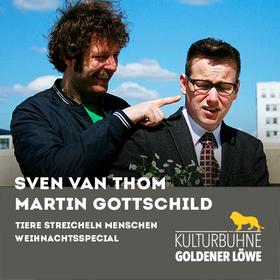 """Bild: Sven van Thom & Martin Gottschild - Tiere Streicheln Menschen """"Weihnachtsspecial"""