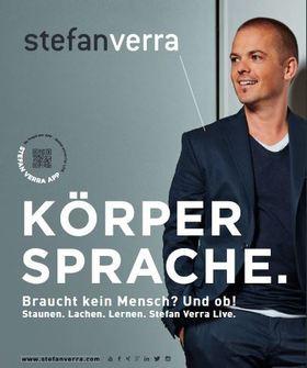 Stefan Verra - KÖRPERSPRACHE: Braucht kein Mensch? Und ob! Staunen. Lachen. Lernen. Stefan Verra live.