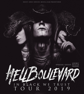 Hell Boulevard: In Black We Trust Tour - Support: Johnny Deathshadow