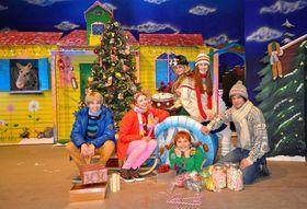 Bild: Pippi plündert den Weihnachtsbaum - Theater auf Tour