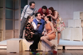 Bild: Monsieur Claude und seine Töchter - a.gon Theater
