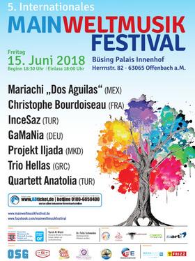 Bild: MainWeltmusik Festival - Open Air Konzert - Offenbach am Main