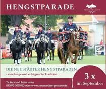 Bild: Neustädter Hengstparade 2019 - I. Hengstparade