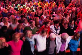 Bild: 1. Rudelsingen im Sauerlandpark - Premiere
