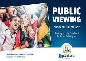Bild: Public Viewing Deutschland - Mexico