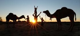 GRENZGANG - Australien - Mit Kamelen durchs Outback