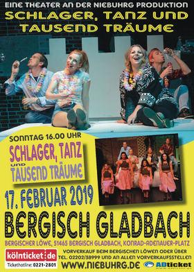 Bild: Schlager, Tanz und tausend Träume - Theater an der Niebuhrg