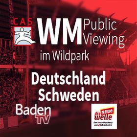 Bild: CAS WM 2018 Public Viewing im Wildpark - Deutschland - Schweden