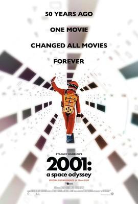 Bild: 2001: A Space Odyssey (englisches OmU) - in analoger 70mm Projektion (in Anwesenheit von Produzent Jan Harlan)